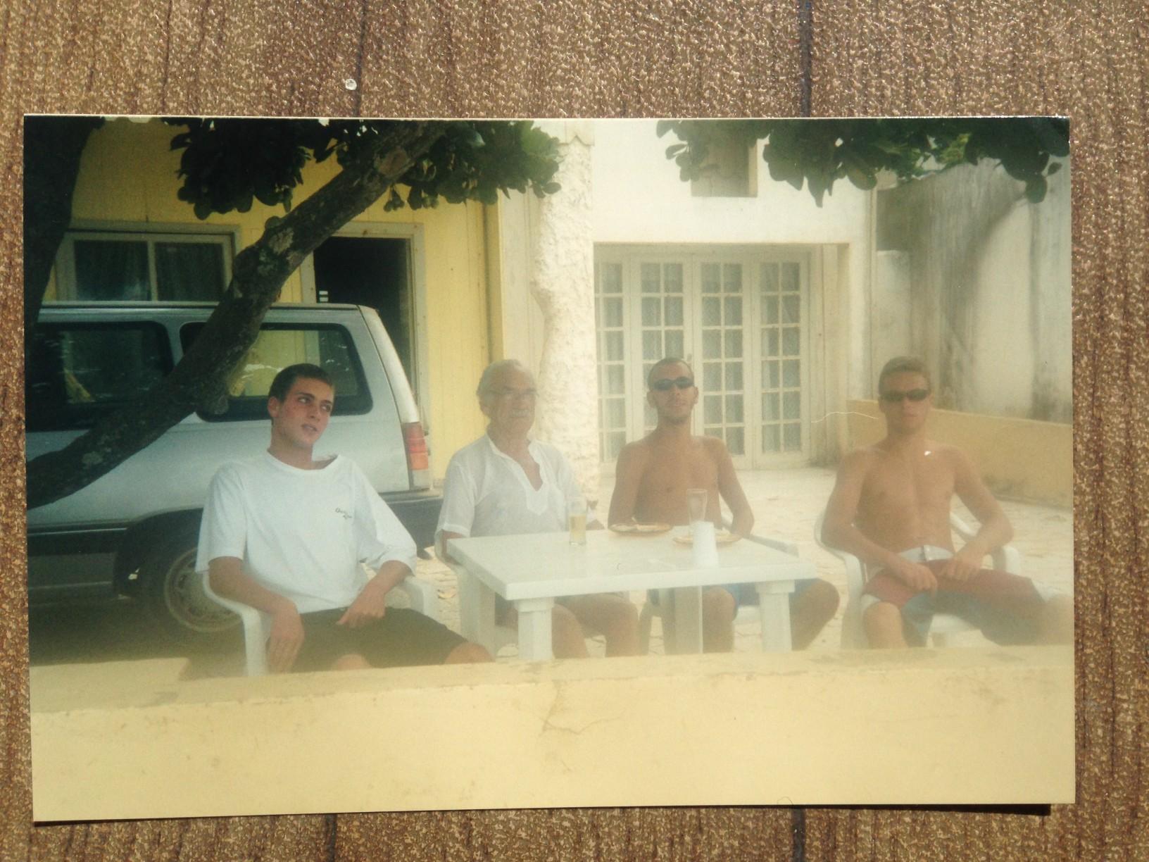 Final dos anos 90 em Barra Velha / SC. ft.: arquivo pessoal