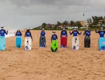 Wahine Bodyboarding Pro promove ações sustentáveis ao longo de sua programação